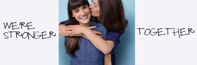 """Estée Lauder Companies' """"Let's Defeat Breat Cancer. We're Stronger Together."""" Campaign"""